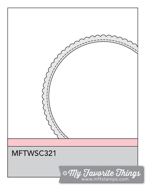 MFT Card Challenges: Wednesday Sketch Challenge - Sketch 321