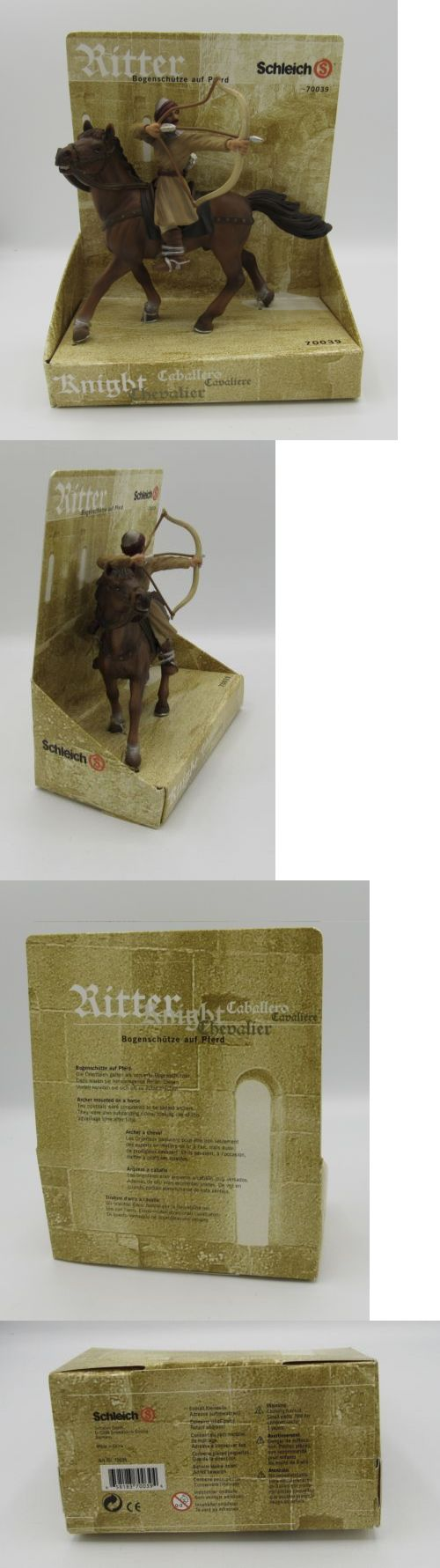 Historical Figures 175694: Nib Schleich Ritter Knight Rider Archer On Horse 70039 -> BUY IT NOW ONLY: $34.53 on eBay!