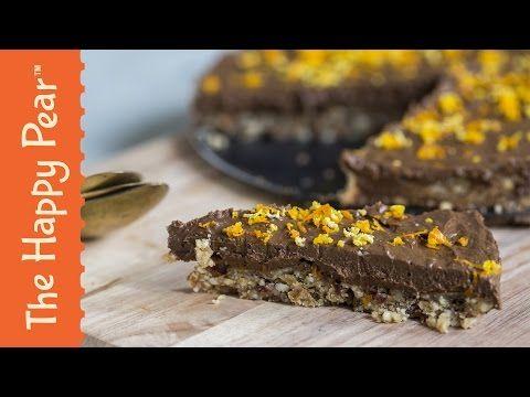 vegan Avocado Chocolate Mousse Cake - No Bake Chocolate Cake Recipe! - YouTube
