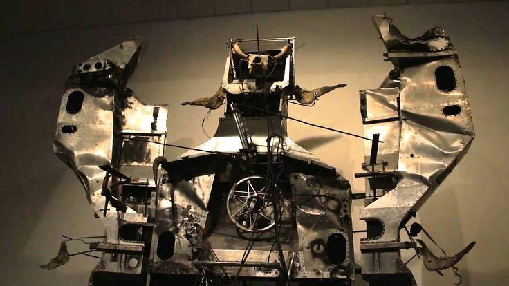 Artista Jean Tinguely. Museo Tinguely- Suiza. Género Esculturas cinéticas. Época desde 1955
