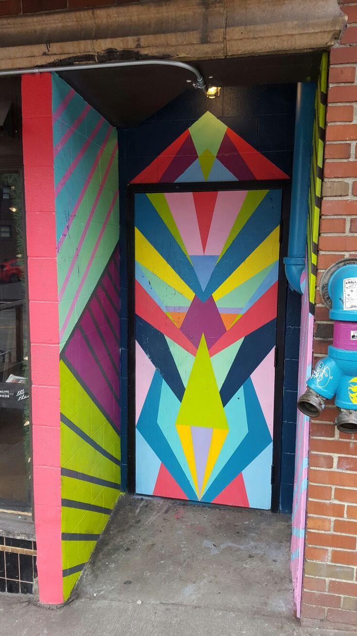 Seattle Map Redmond%0A Capitol Hill doorway  Seattle  WA