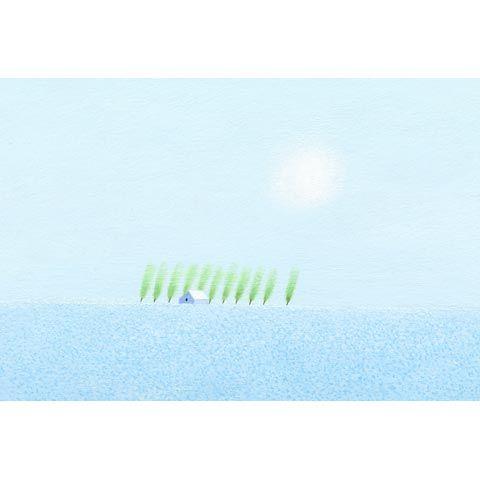 葉祥明 アートグラフ【Flower Field】太子サイズ