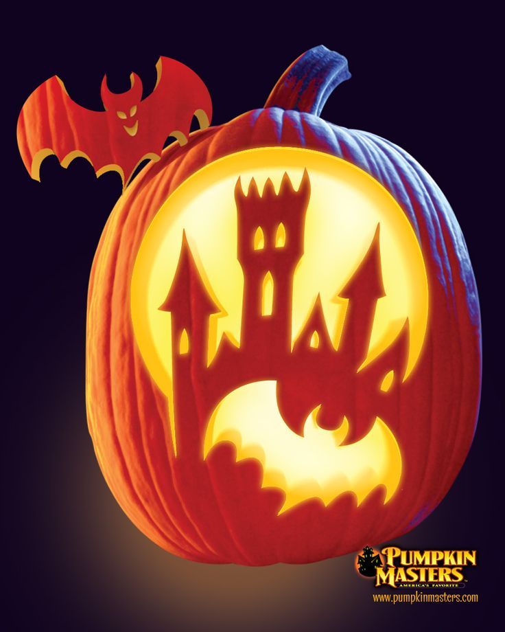 """Bats and the Belfry"" pattern from the Pumpkin Masters Creature Feature Kit."