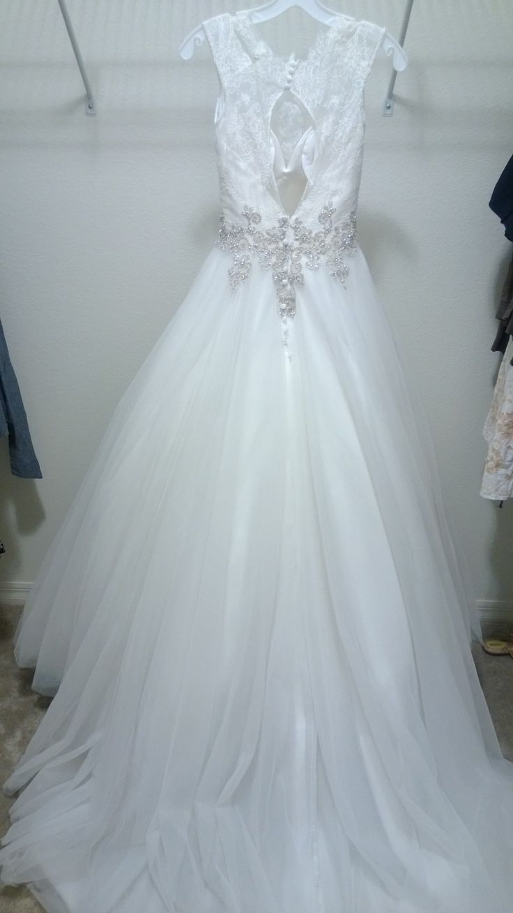 45 best Wedding dress images on Pinterest | Wedding dressses ...