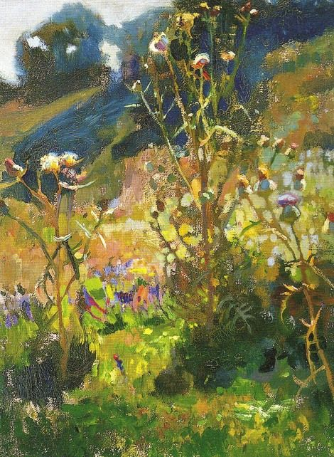 Jan Stanislawski, Ukrainian Thistle in Sunshine on ArtStack #jan-stanislawski #art