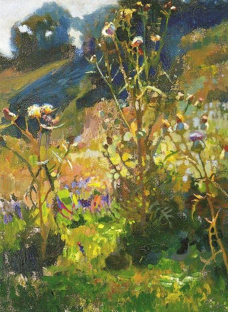 Jan Stanislawski, Ukrainian Thistle in Sunshine on ArtStack #jan-stanislawski #art