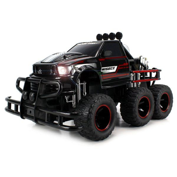 Velocity Toys Speed Spark 6x6 Electric RC Monster Truck Big 1:12 Scale RTR (Colors May Vary)