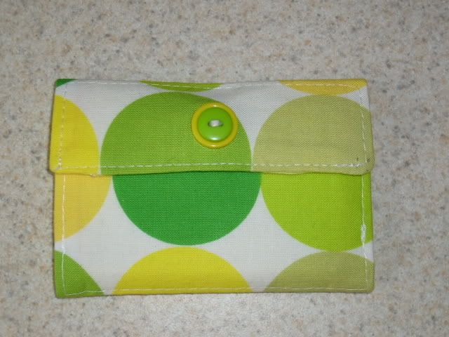 Wallet DIY - Small ones. I think these are great for gifts, or a wallet for your child. :-)