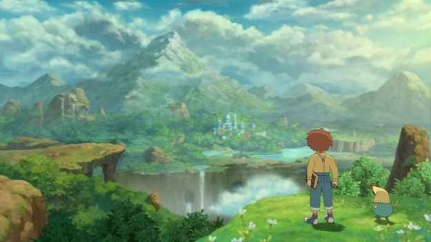 The other world in Ni no Kuni: Wrath of the White Witch