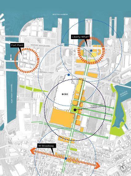 BOSTON CONVENTION AND EXHIBITION CENTER: D STREET CORRIDOR: