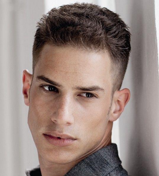 Мужские модельные стрижки для тонких волос