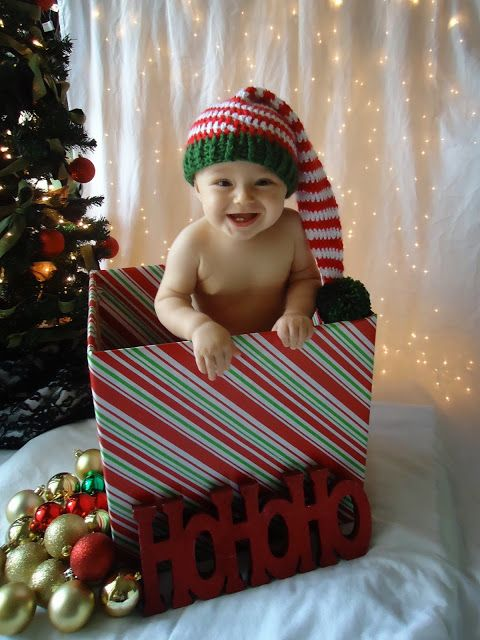 Take your OWN profession Baby's Christmas pictures! Tips and how-to's...