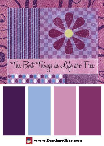 Purple Color Palette