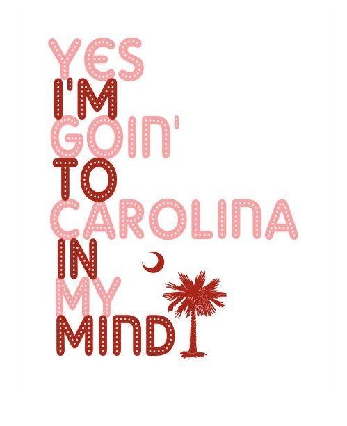"""Carolina In My Mind,"" James Taylor lyrics"