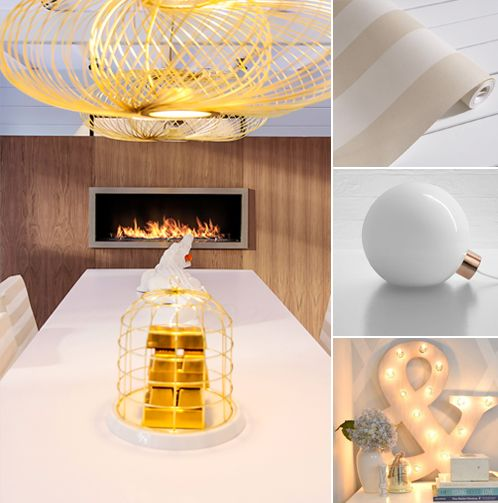 #Elegant, chic or classy? What do you think?  www.planikafires.com www.facebook.com/planikafire  #lxry #luxury #gold #white #light #beige