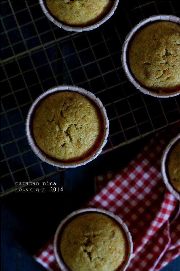 Catatan Nina: SIMPLE BANANA CUP CAKE