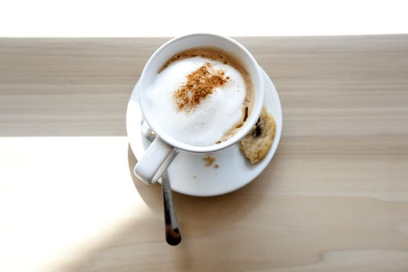 Cappuccino at Smock Cafe on Roncesvalles Ave.