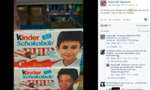 """Right-Wing supporters outraged to have foreigners on the cover of Germany's favourite """"Kinder"""" chocolate brand.  The Local - Germany's News in English"""