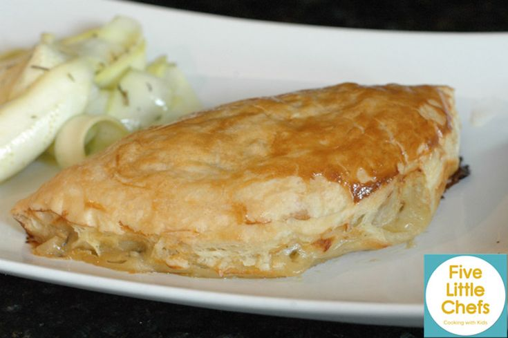 Five Little Chefs - Cooking with Kids - Chicken Pot Pie Turnovers