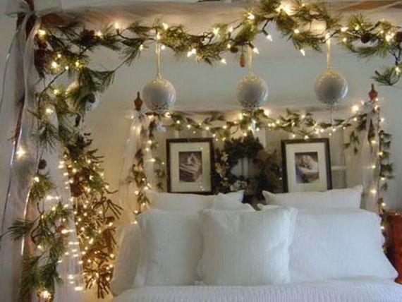 Christmas Bedrooms 251 best holidays: christmas bedroom decor images on pinterest