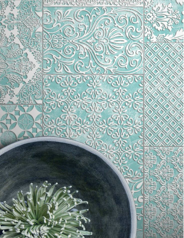 Porcelain stoneware wall/floor tiles LA CHIC MER by Unica by Target studio @unicabytarget