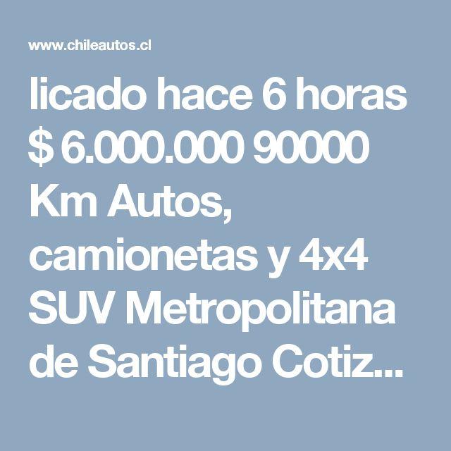 licado hace 6 horas $ 6.000.000   90000 Km  Autos, camionetas y 4x4  SUV  Metropolitana de Santiago Cotiza tu crédito  Quitar del comparador Lista de Comparación  Comentarios del vendedor IMPECABLE OPORTUNIDAD ÚNICA JEEP WRANGLER RUBICON UNLIMITED TOPE DE LÍNEA MOTOR V6 AUTOMATICO PRECIOSO SÓLO 90.000 KMS INTERIOR BICOLOR MUY EXCLUSIVO DESCAPOTABLE 4X4 FULL OFFROAD CERO DETALLES HERMOSA POR DENTRO Y POR FUERA, CONTROL CRUCERO  Detalles destacados Especificaciones Vehículo 2011 Jeep Wrangler…