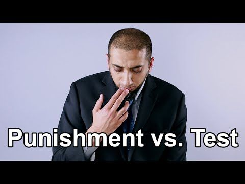 Nouman Ali Khan - Punishments Versus Tests:  When hardship befalls you, how do you figure out if it's a test or punishment from Allah?