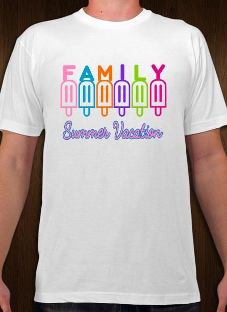 230881bde90 Family summer vacation tee design. Personalize t-shirts online for your summer  vacation.