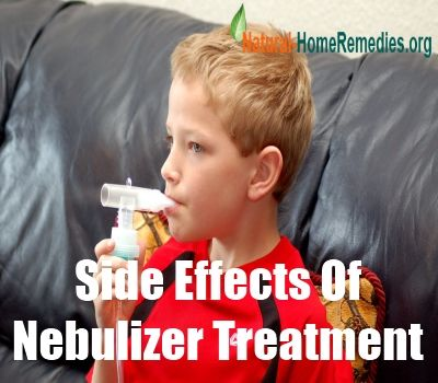 Side Effects Of Nebulizer Treatment Asthma Pinterest