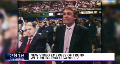 BUSTED: Video shows Trump palling around with notorious mobster he'd denied knowing...there is a reason Trip was denied a gambling license by the Nevada gaming commission.