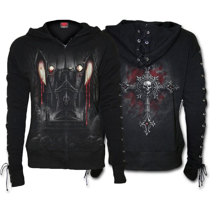 spiral-gothic-vamp-fangs-ladies-lace-up-glitter-hoodie-dt185277--d019f265-d019f265.jpg (1200×1200)