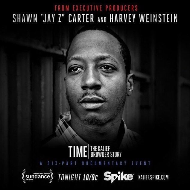 The system failed Kalief Browder. Catch the 6 part series documentary starting tonight on @spiketv bought to you by Jay-Z @rocnation and Harvey Weinstein #epicteam6 #clothing #culture #independent #brand #urban #street #nyc #skatelife #streetwear #custom #design #fashion #icon #waves #fly #fresh #business #entrepreneur #dope #music #hiphop #legacy #tradition #ambition #determination #waves #paperchaser