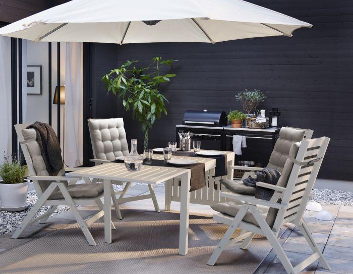 pplar tafel met 4 tuinstoelen ikea welkombuiten tafel stoelen tuinset grenen ikea. Black Bedroom Furniture Sets. Home Design Ideas