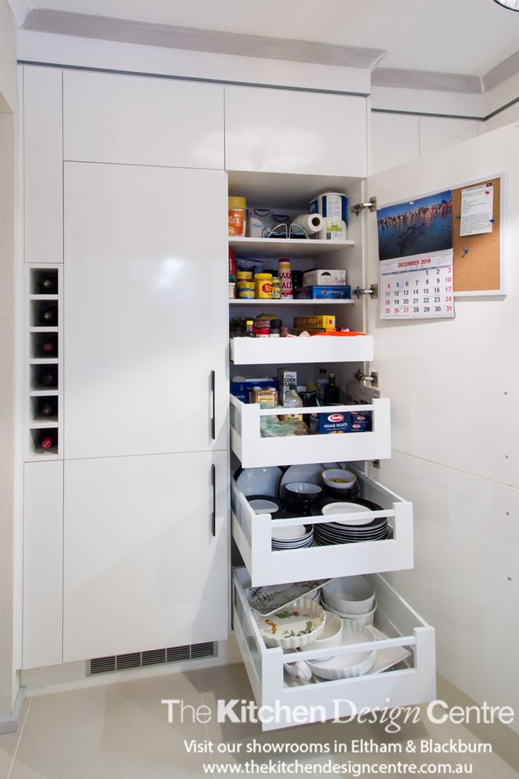 Small kitchen that has been well thought out and planned to meet the clients' needs specifically.  Who says small kitchens are a problem?! A sleek, small, black and white kitchen. www.thekitchendesigncentre.com.au @thekitchen_designcentre