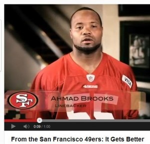 I love my team and the 49er legacy, but these guys need to be checked. So disappointing.... Revisionist History: Two 49ers Players Insist They Did Not Appear In 'It Gets Better' Video