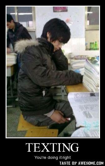 Asians. Always one step ahead.