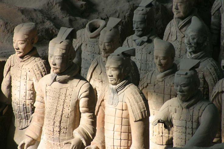 Esercito di terracotta di Xi'an, #Cina.