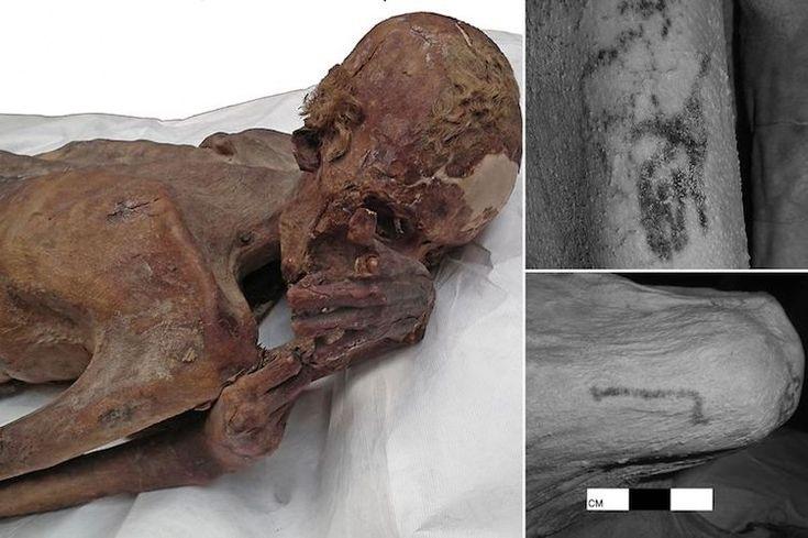 Arkeoloji - 5000 Yıllık Mısır Mumyalarında Dövmeler Bulundu | Antik Sırlar