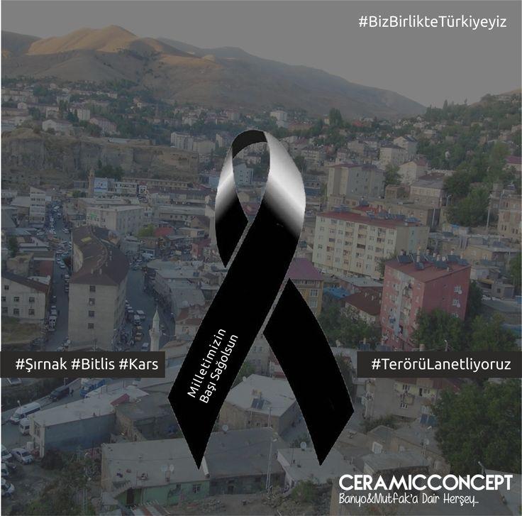 #Şırnak #Bitlis #Kars #TerörüLanetliyoruz #MilletimizinBaşıSağolsun #BizBirlikteTürkiyeyiz