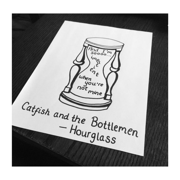 Catfish And The Bottlemen - Hourglass doodle✌️