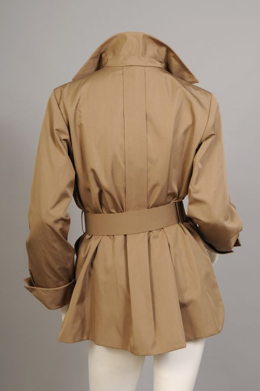 Rare Yves Saint Laurent Haute Couture Safari Jacket For Sale at 1stdibs