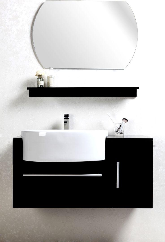 Conjunto de muebles de ba o lavabo armario estanter a y for Armario lavabo barato