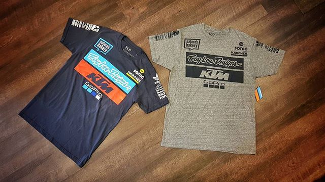 2018 TLD KTM TEAM TEE NAVY & VINTAGE GREY  Availaible now at XClub leading stores!  #xclubmalaysia #xtremerated #xclub #troyleedesigns #ktmgopro #gopro #2018 #tees #lifestyle