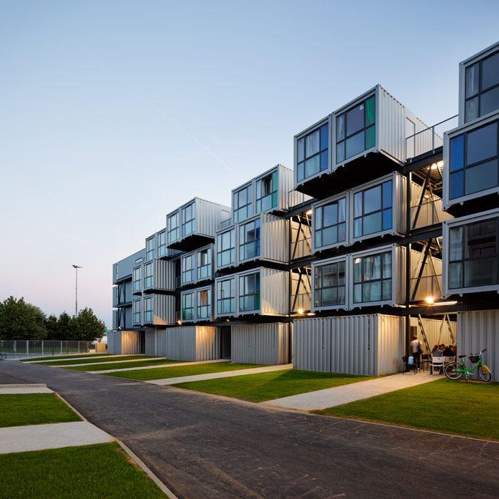 Resultado de imagen para shipping container apartment - Arquitectura contenedores maritimos ...