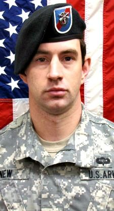 Army SGT. Stephen M. New, 29, of Bartlett, Tennessee. Died July 28, 2013, serving during Operation Enduring Freedom. Assigned to 2nd Battalion, 20th Special Forces Group (Airborne), Jackson, Mississippi. Died in the U.S. military hospital at Bagram Airfield, Parwan Province, Afghanistan, of wounds suffered when his unit was attacked by enemy small arms fire in the Sarobi District of Kabul Province, Afghanistan.