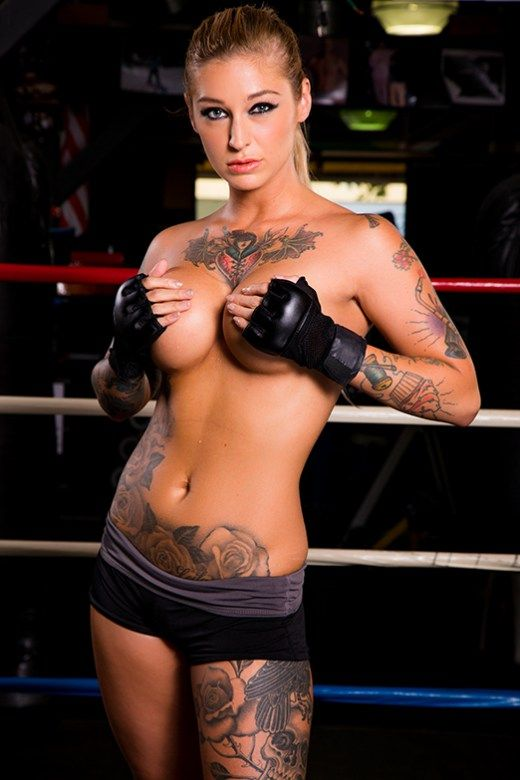 American Porn Magazine Models - Meet the tattooed starlet who will be playing Ronda \