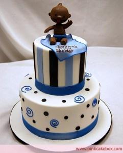 Baby Boy Shower Cake 2