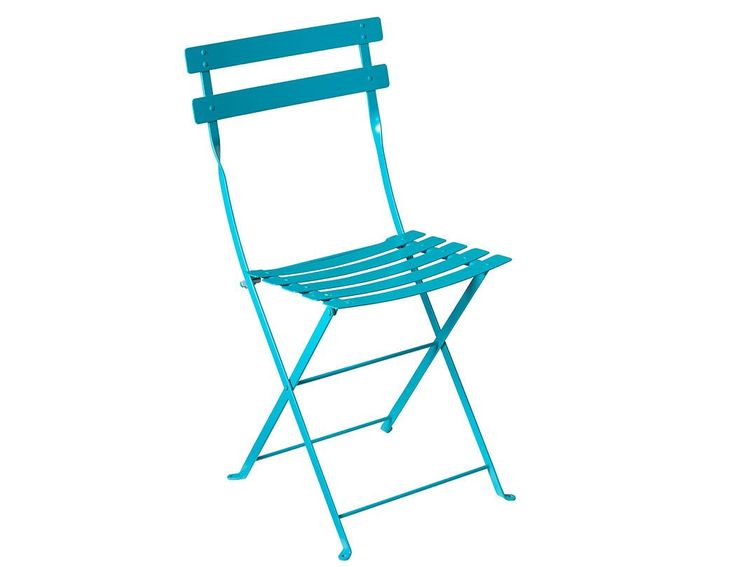 Turquoise Folding Chair S/2