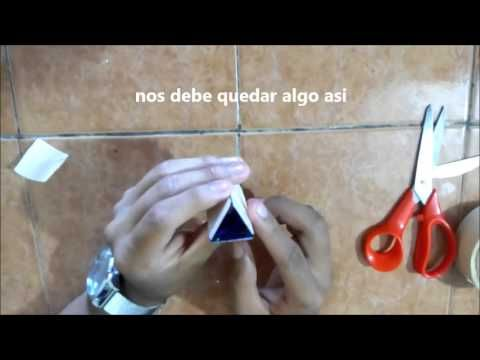 Caleidoscopio casero, Inventos fáciles y divertidos para niños - YouTube