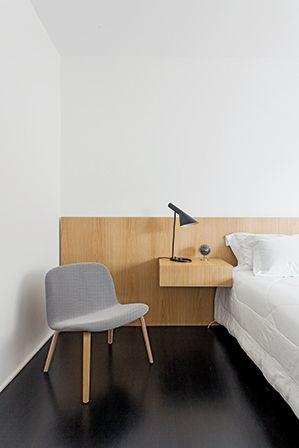 apartamento em higienópolis, são paulo | projeto: felipe hess | cadeira visu lounge, da muuto (micasa)